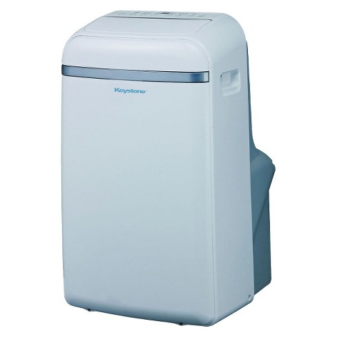 Keystone - 12000-BTU Portable Cool Only Air Conditioner - White - image 1 of 2