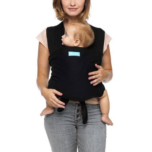 Moby Fit Hybrid Baby Carrier Black