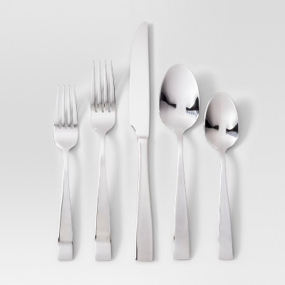 20pc Silverware Set Silver - Project 62™