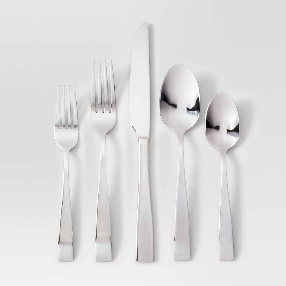 Image of 20pc Silverware Set Silver - Project 62
