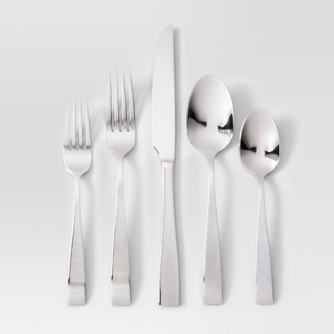 20pc Silverware Set Silver - Project 62™ - image 1 of 1