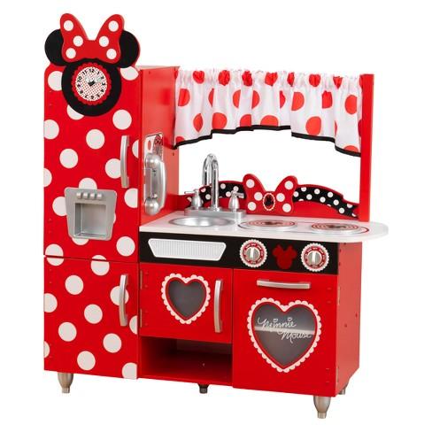 Kidkraft Disney Jr Minnie Mouse Vintage Play Kitchen