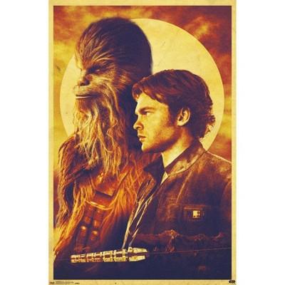 "22.375"" x 34"" Star Wars: HAN Solo - Duo Unframed Wall Poster Print - Trends International"