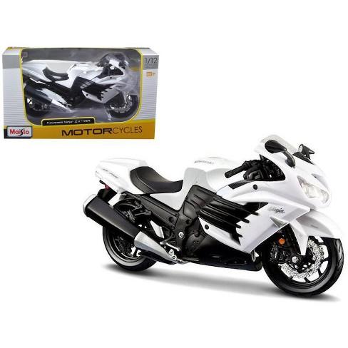 2012 Kawasaki Ninja Zx 14r White Motorcycle 112 By Maisto