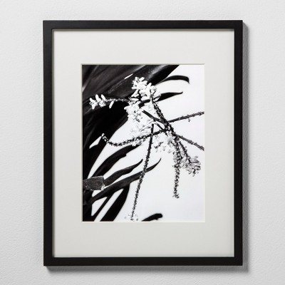 11  x 14  Matted Wood Frame Black - Made By Design™