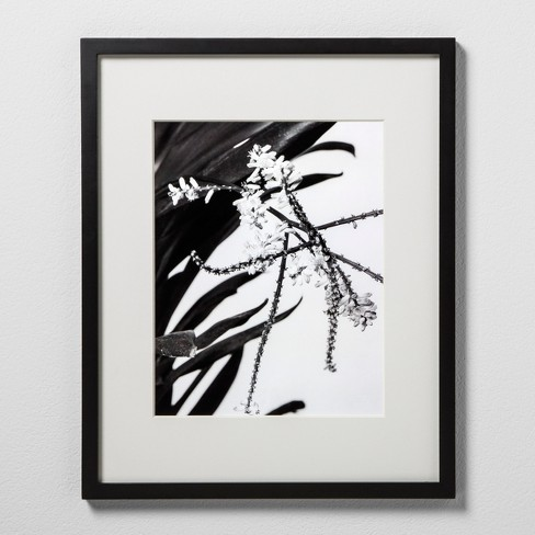 """11"""" x 14"""" Matted Wood Frame Black - Made By Design™ - image 1 of 5"""