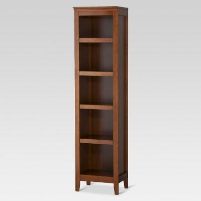 Carson 72  5 Shelf Narrow Bookcase - Midtone - Threshold™