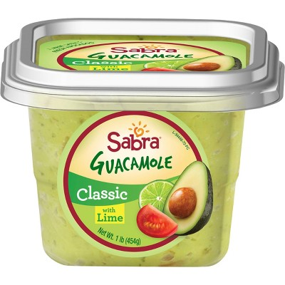 Sabra Classic Guacamole with Lime - 16oz