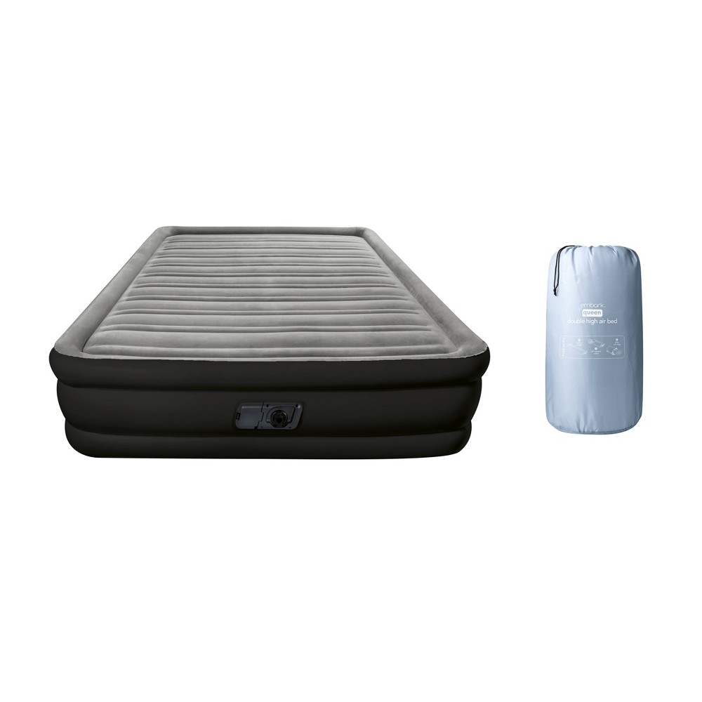 Image of Double High Queen Air Mattress with Built In Pump - Embark