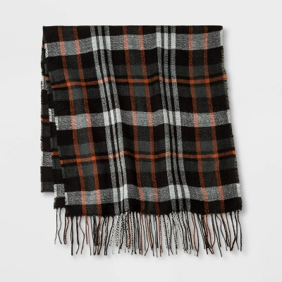 Men's Plaid Oblong Scarf - Goodfellow & Co™ One Size