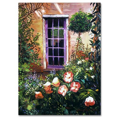 Tuscany Villa Garden' by David Lloyd Glover Ready to Hang Canvas Wall Art