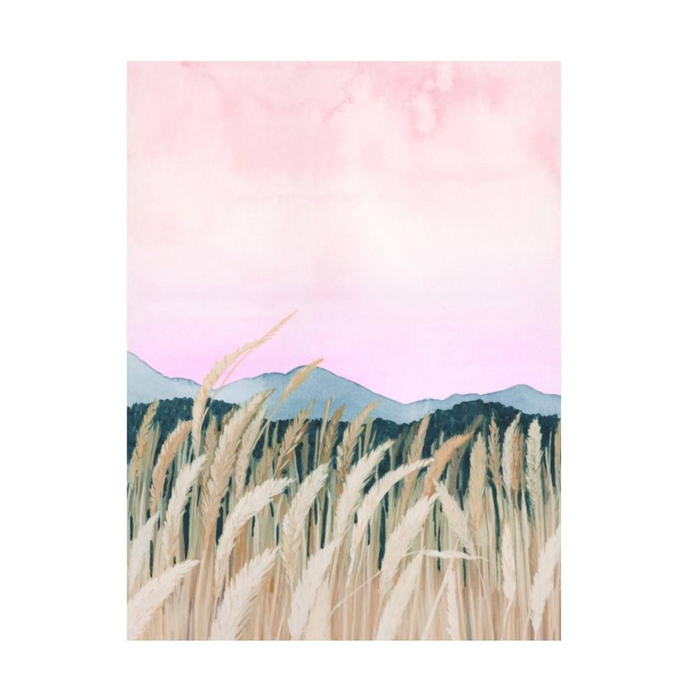 18 34 X 24 34 Grace Popp 39 Wheaten Dawn I 39 Unframed Wall Canvas Trademark Fine Art