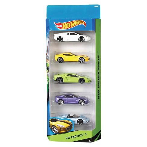 Mattel 5 Car Pack Styles May Vary Target