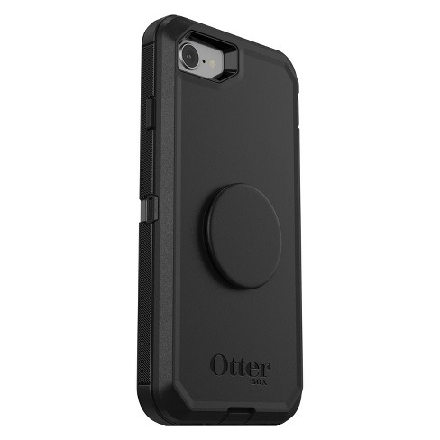 newest 6a70f 66333 OtterBox Apple iPhone 8/7 Otter + Pop Defender Case (With PopTop) - Black