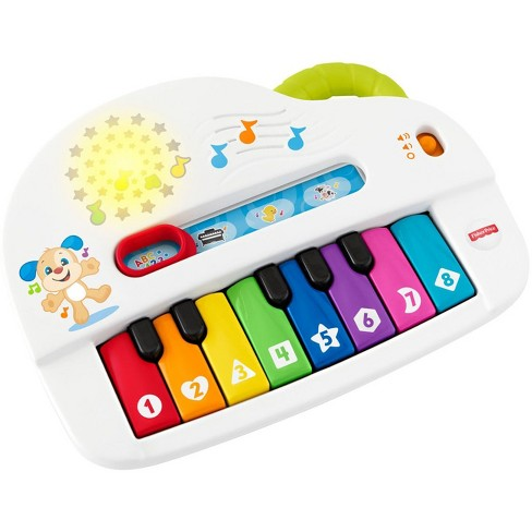 Fisher-Price Laugh and Learn Silly Sounds Light-up Piano - image 1 of 11
