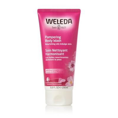 Weleda Wild Rose Pampering Body Wash - 6.8 fl oz