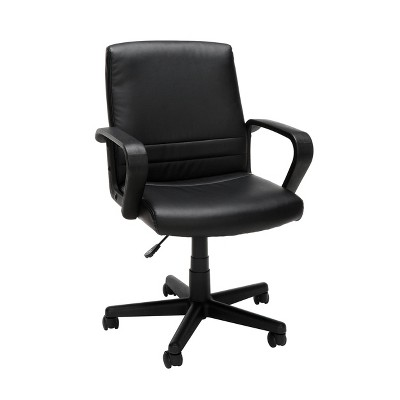 Mid Back Executive Chair Black - OFM