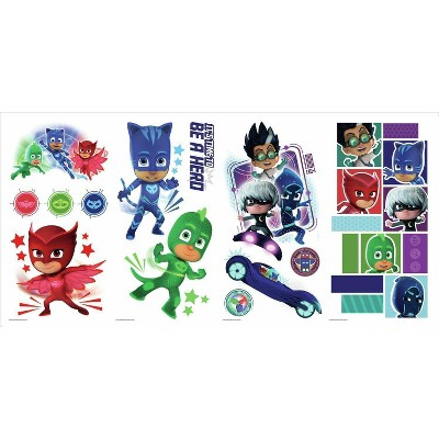 PJ Masks Peel and Stick Wall Decal
