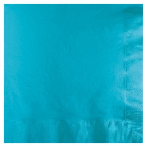 50ct Bermuda Blue Disposable Napkins - image 1 of 1