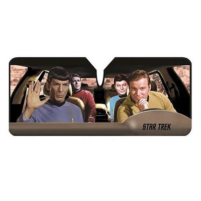 Just Funky Star Trek Passengers Car Sunshade
