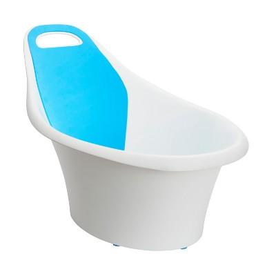 Munchkin Sit and Soak Baby Bath Hard Tub - 0-12 M - White