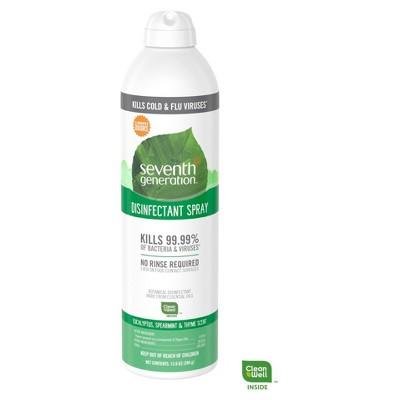 Seventh Generation™ Eucalyptus & Spearmint Disinfectant Spray - 13.9oz