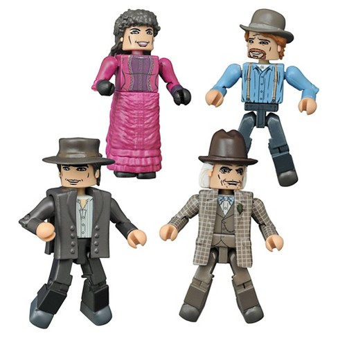 Diamond Select Toys Back to the Future Minimates 1885 Box Set - image 1 of 1