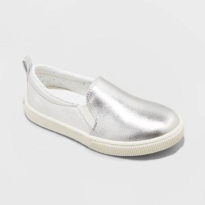 Girls' Nya Slip-On Apparel Sneakers - Cat & Jack™