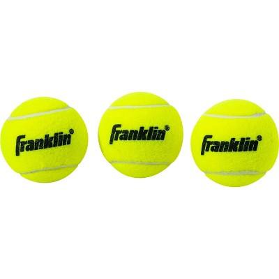Franklin Sports Practice Tennis Balls Can - 3pk