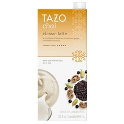 Tazo Classic Latte Chai Black Tea - 32oz
