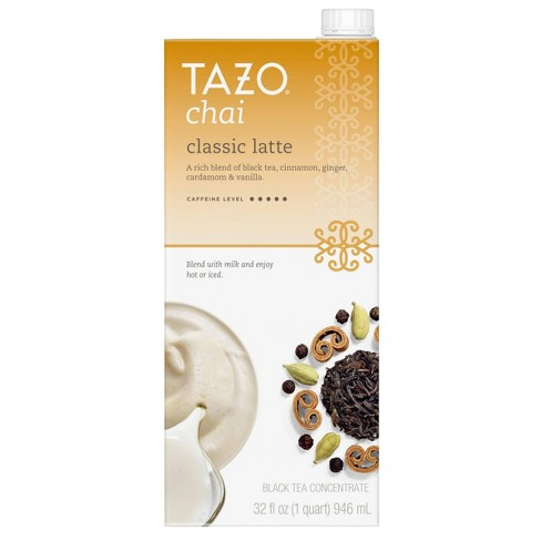 Tazo Classic Latte Chai Black Tea - 32oz - image 1 of 7