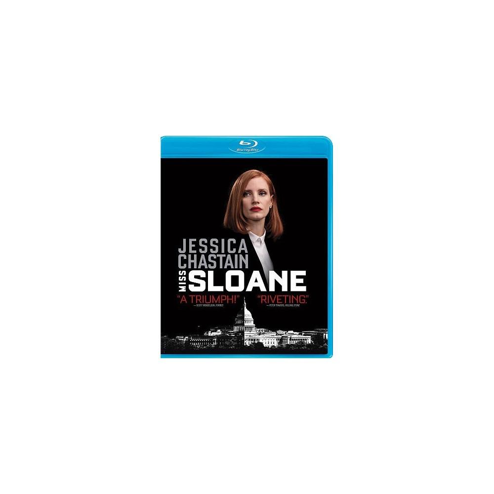 Miss Sloane (Bd/Dvd Combo) (Blu-ray)