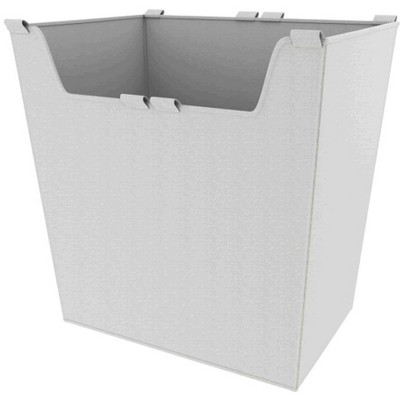 Rev-A-Shelf CBLSL-181417-T-1 17.5 Inch Wide by 16.5 Inch Height Washable Canvas Cloth Sidelines Closet Basket Liner with Velcro Tabs, Tan