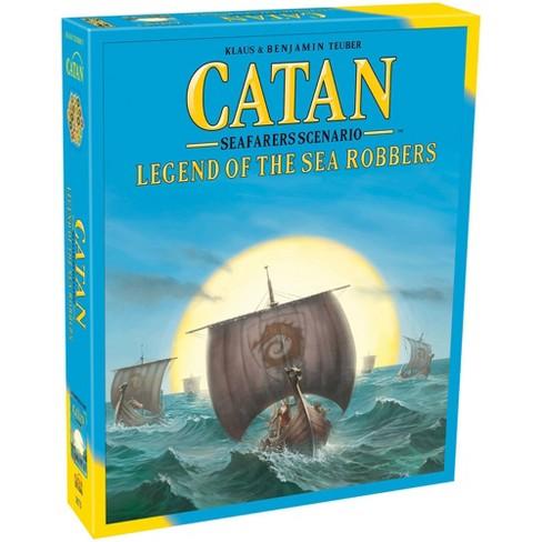 Catan Studios Catan: Legend of the Sea Robbers Board Game - image 1 of 4