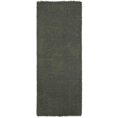 24 x40  Chunky Chenille Memory Foam Bath Rugs & Mats Pigeon Gray - Room Essentials™
