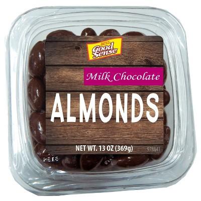 Good Sense Milk Chocolate Almonds - 13oz
