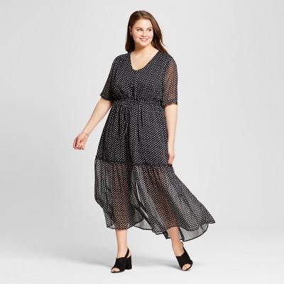 Black Maxi Dresses Target