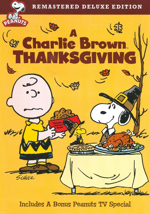 A Charlie Brown Thanksgiving (Deluxe Edition) (dvd_video) - image 1 of 1