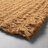Oversized Braided Coir Doormat - Hearth & Hand™ with Magnolia - image 3 of 3