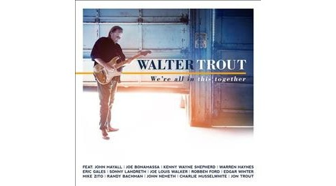 Walter Trout - We're All In This Together (CD) - image 1 of 1