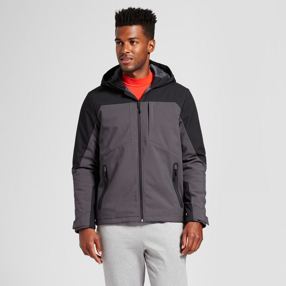 Men's Insulated Softshell Jacket - C9 Champion Black S