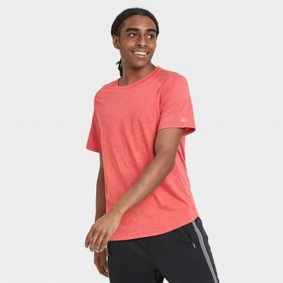 Men's Short Sleeve Run T-Shirt - All in Motion™ Red XL