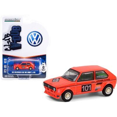 """1975 Volkswagen Golf Mk1 Group 2 #101 Winner Hockenheimring German GP (1975) """"Club Vee V-Dub"""" 1/64 Diecast Model by Greenlight"""
