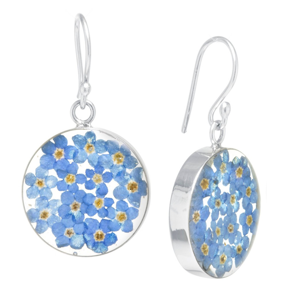 Fine Jewelry Earring Sterling Blue, Girl's