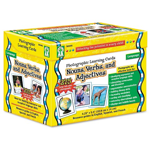 Carson-Dellosa Publishing Photographic Learning Cards Boxed Set ...
