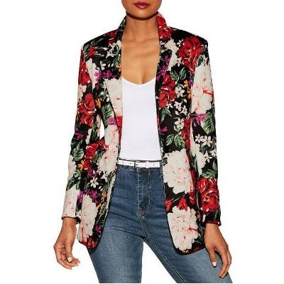 Alexia Admor Diana Floral Print Blazer