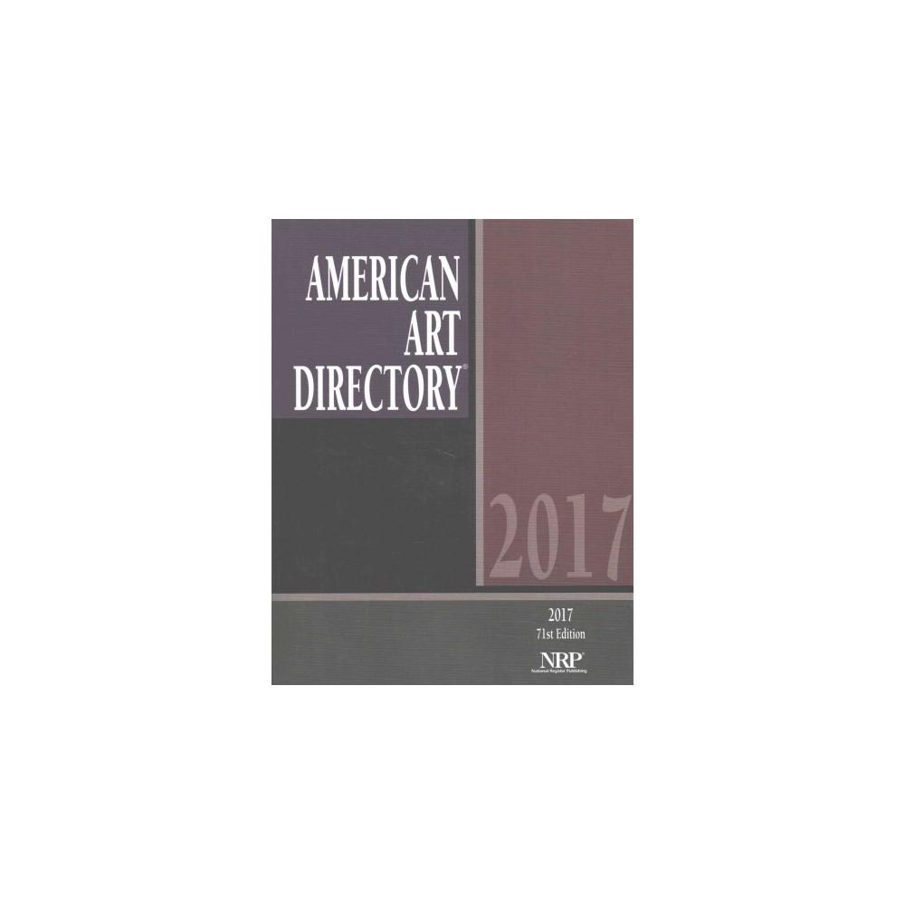 American Art Directory 2017 (Paperback)