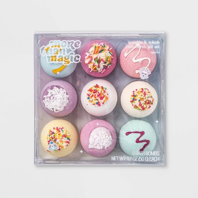 Sprinkle And Splash Bath Bomb Gift Set   9pc/1.7oz Each   More Than Magic™ by Shop This Collection