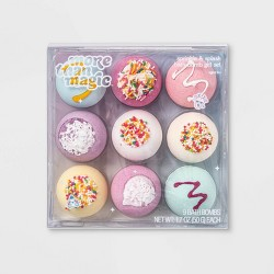 Sprinkle and Splash Bath Bomb Gift Set - 9pc/1.7oz Each - More Than Magic™