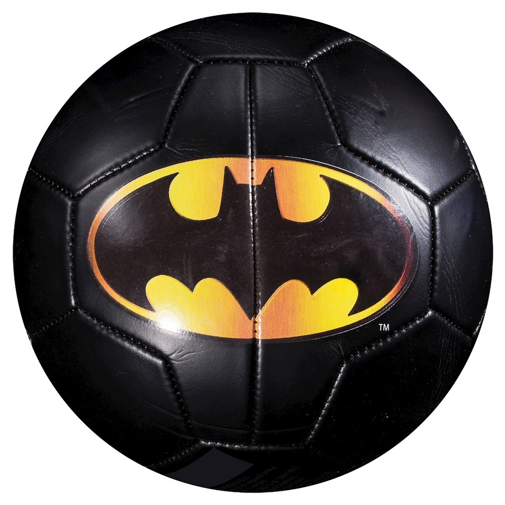 Franklin Sports Batman Soccer Ball with Pump (Size 3)